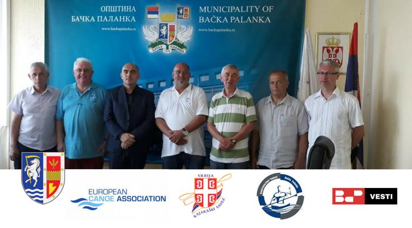 Evropska kajakaška asocijacija (ECA) posetila Bačku Palanku