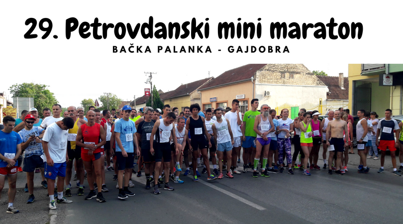 Održan 29. Petrovdanski mini maraton