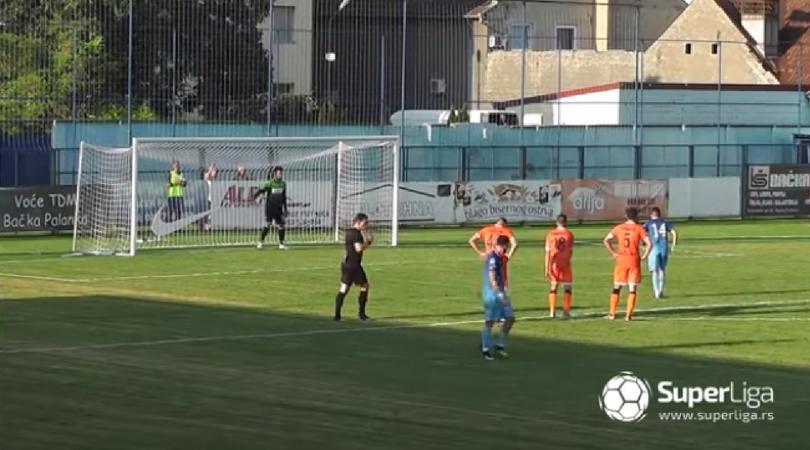 OFK Bačka – Spartak ŽK 2:1 (VIDEO)