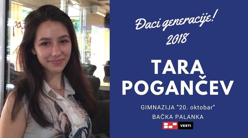 Uspesi naših đaka – Tara Pogančev