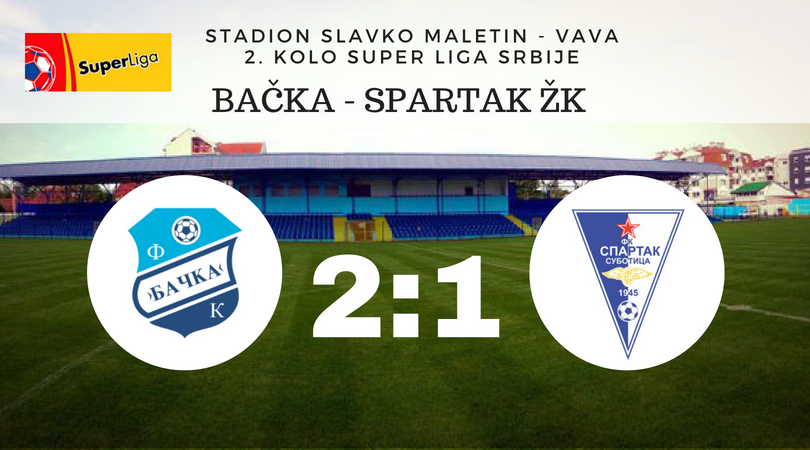 Tri gola, četiri penala – dva promašena, Bačka pobedila Spartak