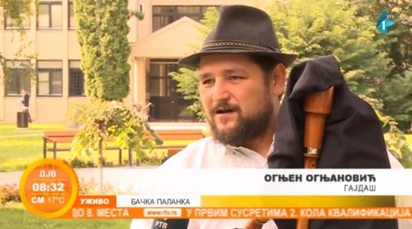 Saradnja gajdaša iz Bačke i Banata (VIDEO)