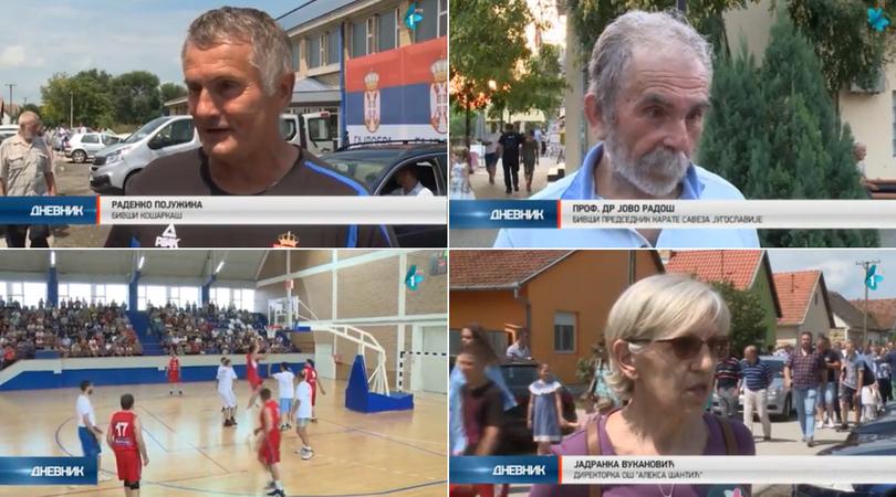 U novoj hali u Gajdobri prvi meč odigrali – košarkaški veterani (VIDEO)