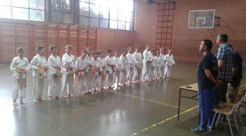 Polaganje za karate zvanja
