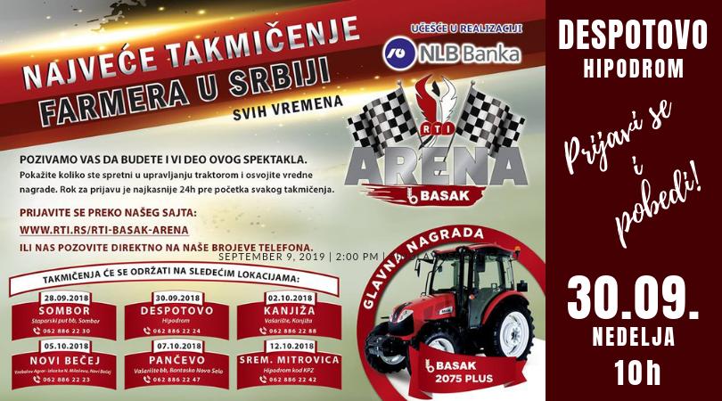Spektakl u Despotovu – Najveće takmičenje FARMERA u Srbiji!