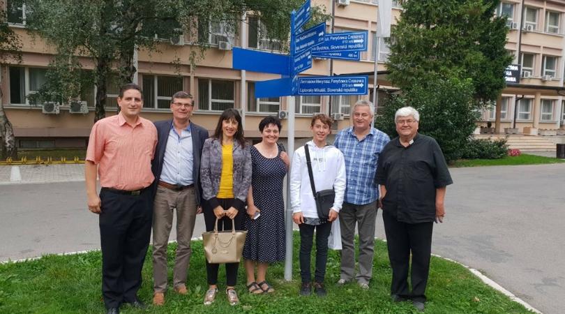 Delegacija Liptovskog Mikulaša u poseti Bačkoj Palanci