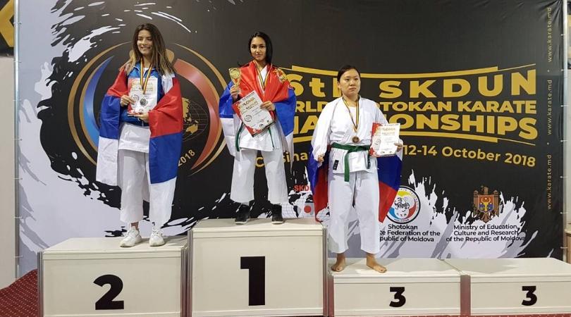 """Zlato i dve bronze za KK """"Kizami"""" na Svetskom prvenstvu"""