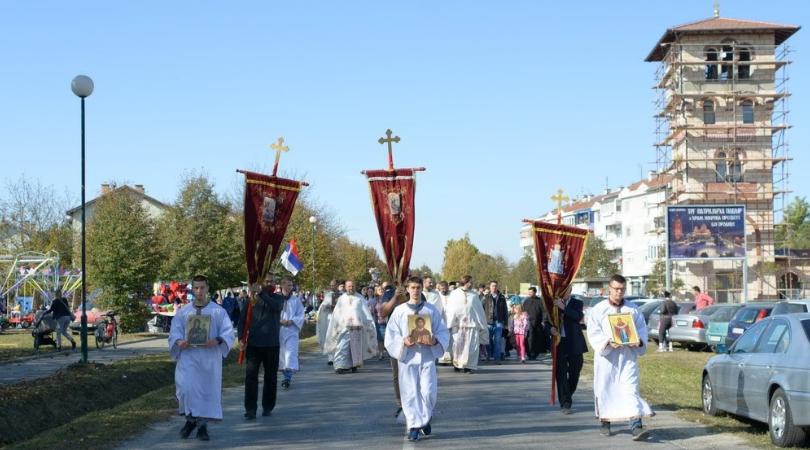 Slava hrama Pokrova Presvete Bogorodice u Bačkoj Palanci