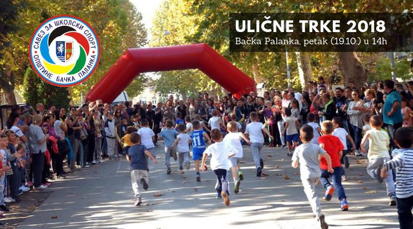 Ulične trke 2018. u petak (19.10.)