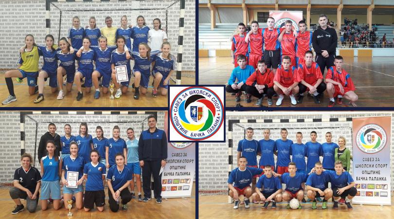 Ko su šampioni Školskog prvenstva u futsalu opštine Bačka Palanka?