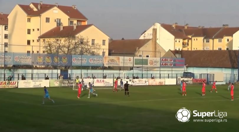 OFK Bačka – FK Voždovac 1:0 (0:0)