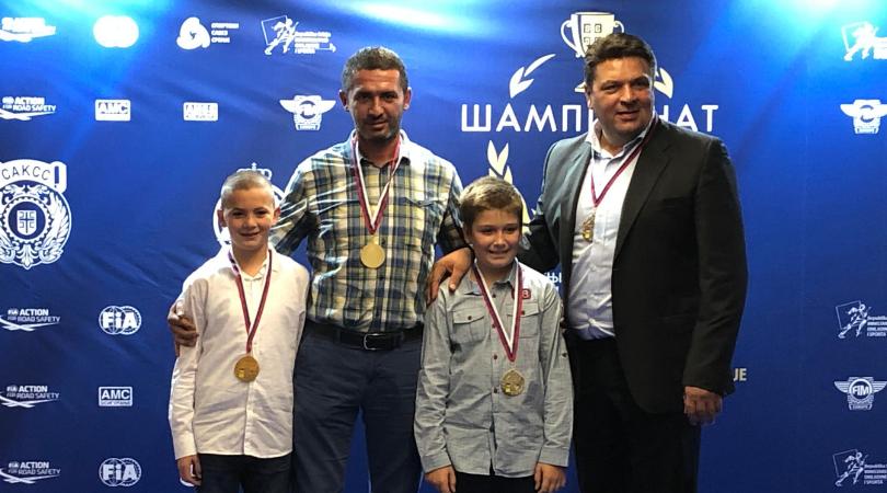 Medalje i pehari BAP Reacing team-u za dostignuća u 2018. godini