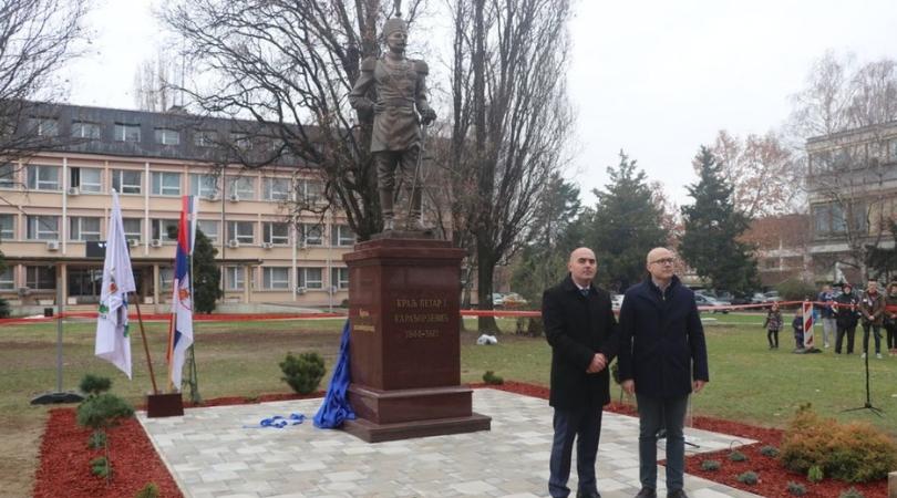 Svečano otkriven spomenik kralju Petru I u Bačkoj Palanci