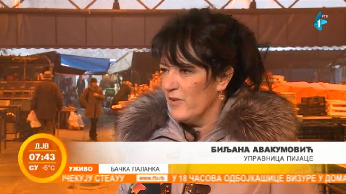 Završena licitacija pijačnih tezgi u Bačkoj Palanci (VIDEO)