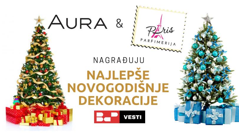 Poznati pobednici konkursa za najlepše novogodišnje dekoracije