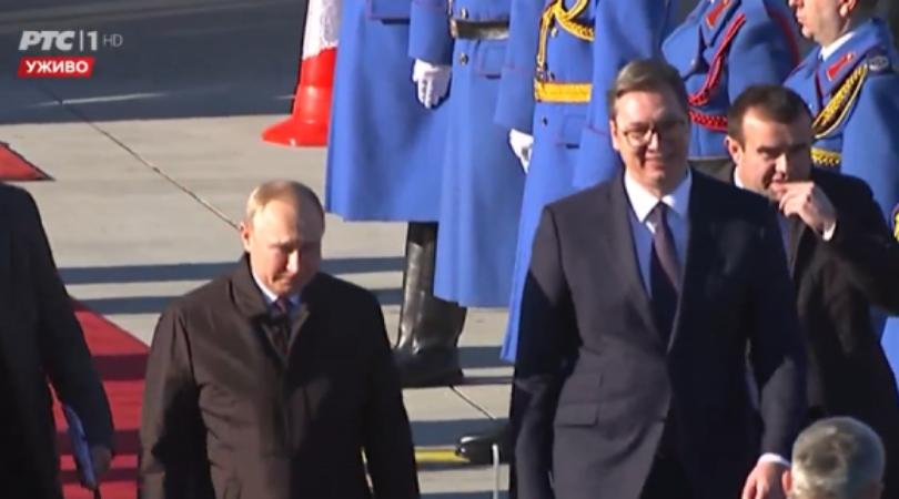 Vladimir Putin stigao u Beograd (FOTO)