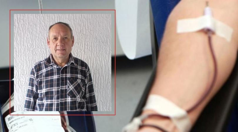 Dao krv 122 puta