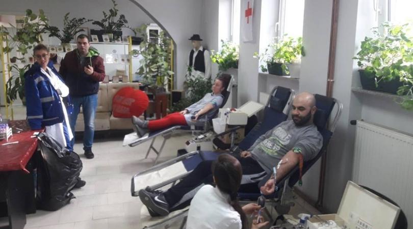 Akcije dobrovoljnog davanja krvi u Bačkoj Palanci, Čelarevu i Silbašu