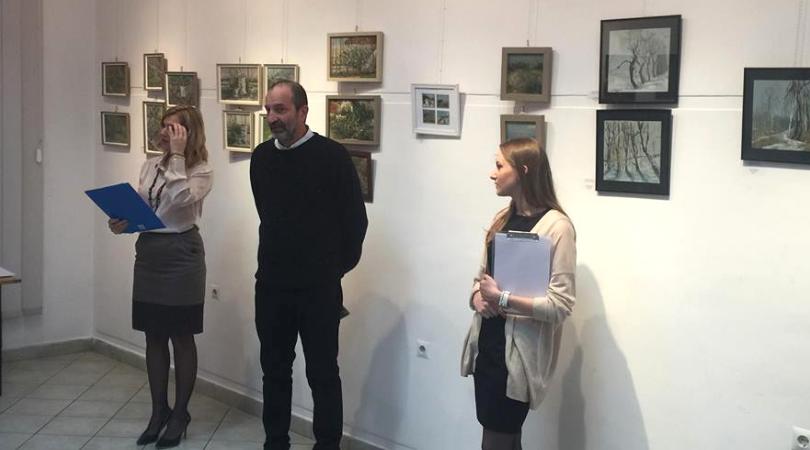 Otvorena izložba slika i crteža Tamare Jovanov