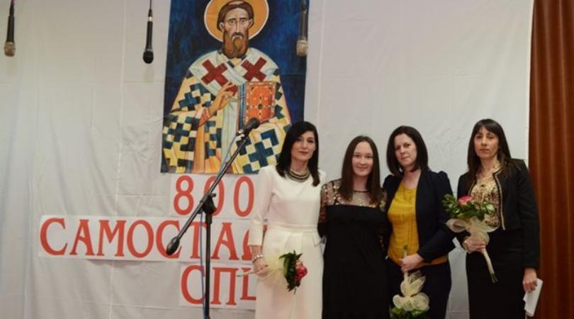 """Milica Vulić izabrana za svetosavsko dete u OŠ """"Desanka Maksimović"""""""