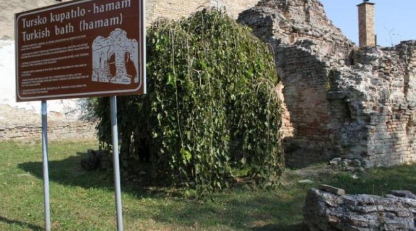 Tursko kupatilo kao podsetnik na vek osmanlijske vlasti u Baču