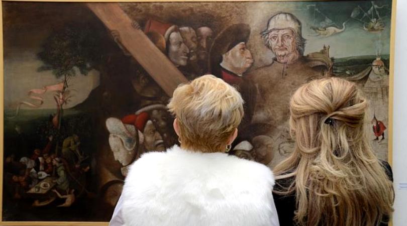 Otvorena izložba Pavela Popa u Bačkom Petrovcu