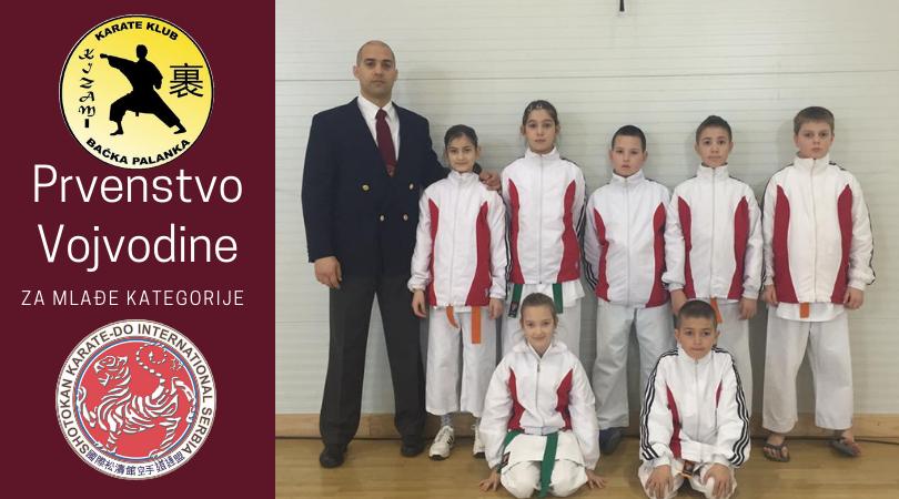 """Pet medalja za KK """"Kizami"""" na Prvenstvu Vojvodine"""