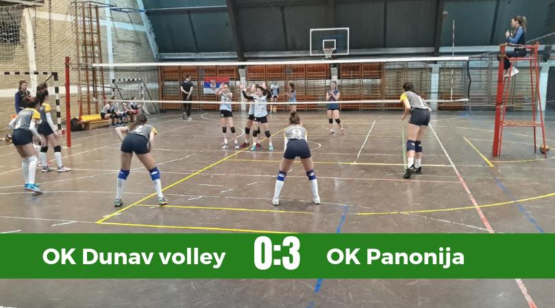 Panoniju samo set deli do finalnog turnira Pionirkog prvenstva Vojvodine