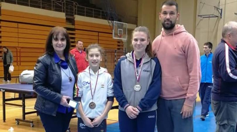 Sara Radak u dublu osvojila bronzu