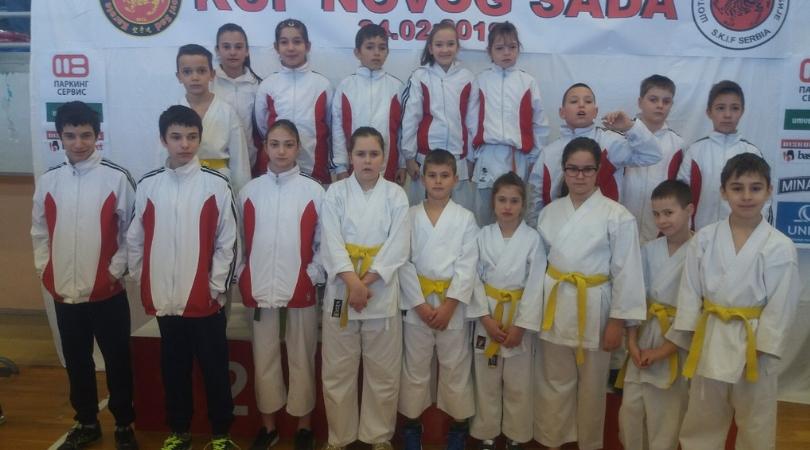 Osvojili sedamnaest medalja