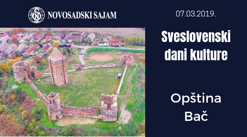 Opština Bač na Sveslovenskim danima kulture na Sajmu knjiga