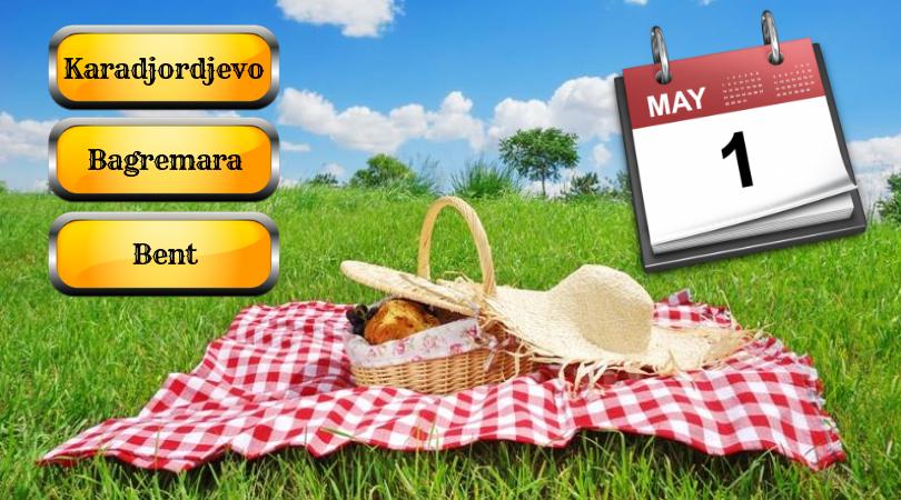 Gde ćete za 1. maj? (Programi)