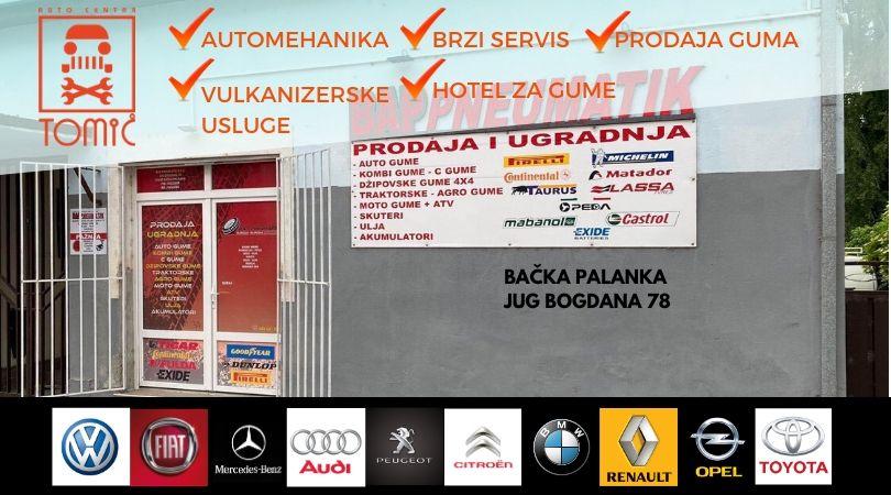 """Auto centar Tomić: """"Sve za vaš auto – najbolje, a povoljno"""""""