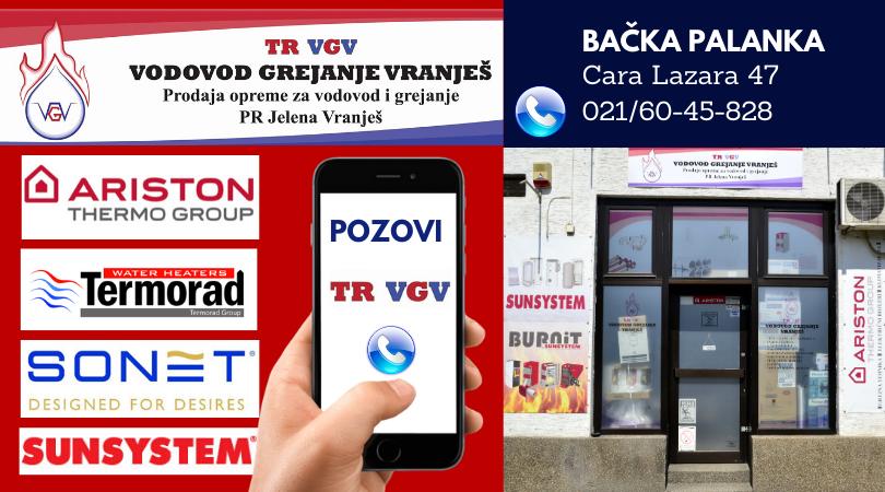 TR VGV: Grejanje, vodovod, kanalizacija, klimatizacija – Sve po najboljim cenama!