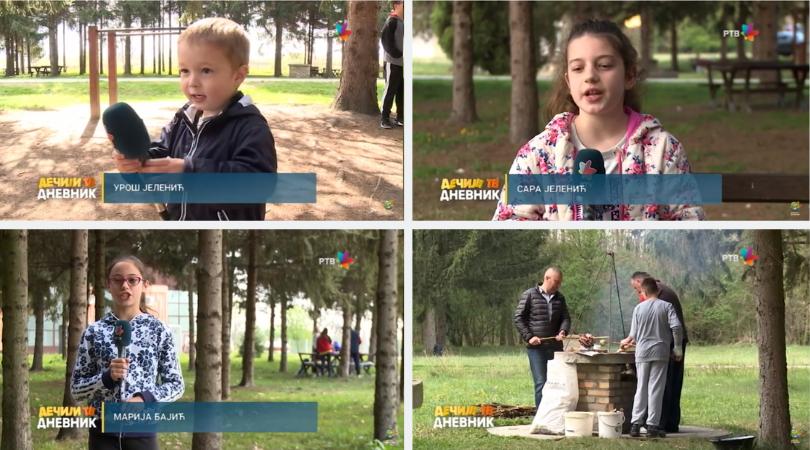 Najmlađi Bačkopalančani o pikniku u Bagremari (VIDEO)