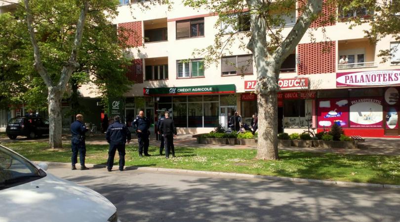 Opljačkana banka u Bačkoj Palanci