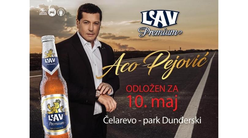 Besplatan koncert Ace Pejovića u Čelarevu