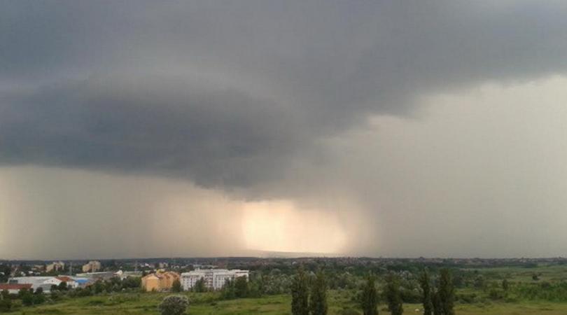 Oblak prašine iz Sahare stiže u Srbiju