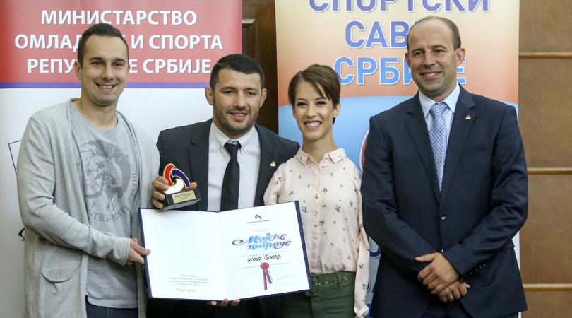 Dejana Bačko dobitnik Majske nagrade Sportskog saveza Srbije