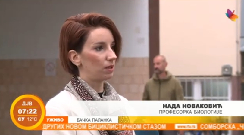 Ekološko-humanitarna akcija gimnazijalaca u Bačkoj Palanci (VIDEO)