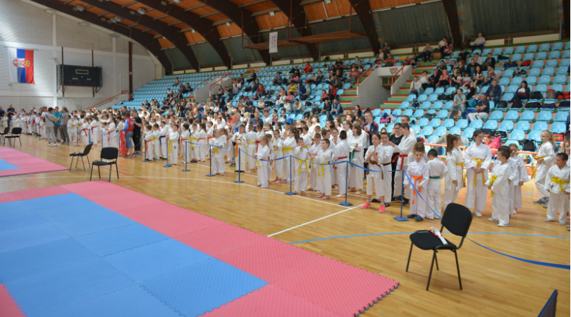 "320 takmičara na 28. Memorijalnom turniru ""Dragan Tot – Totka"""