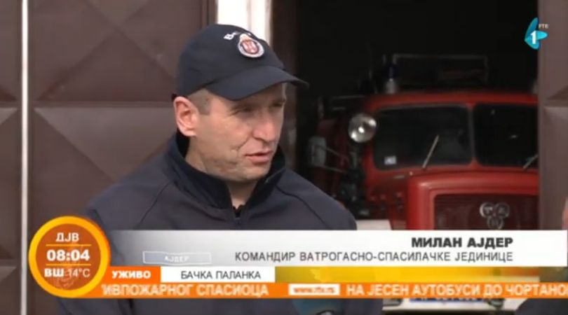 Vatrogasci intervenisali 250 puta u Bačkoj Palanci prošle godine (VIDEO)