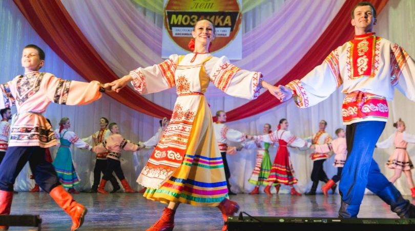 "Koncert ruskog ansambla ""Mozaika"" u Bačkoj Palanci"