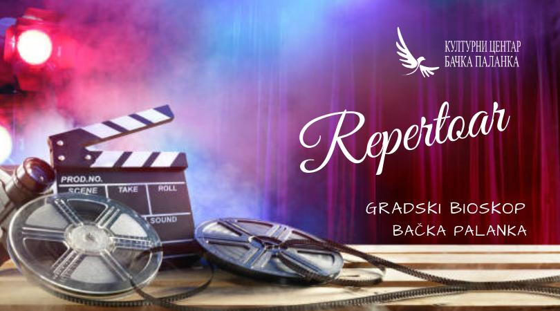 Repertoar u Gradskom u bioskopu 23., 24., 25. i 26. januara