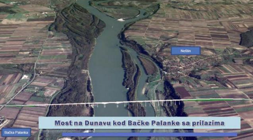 Deonica puta Neštin-Vizić–Erdevik uslov i za novi most kod Palanke