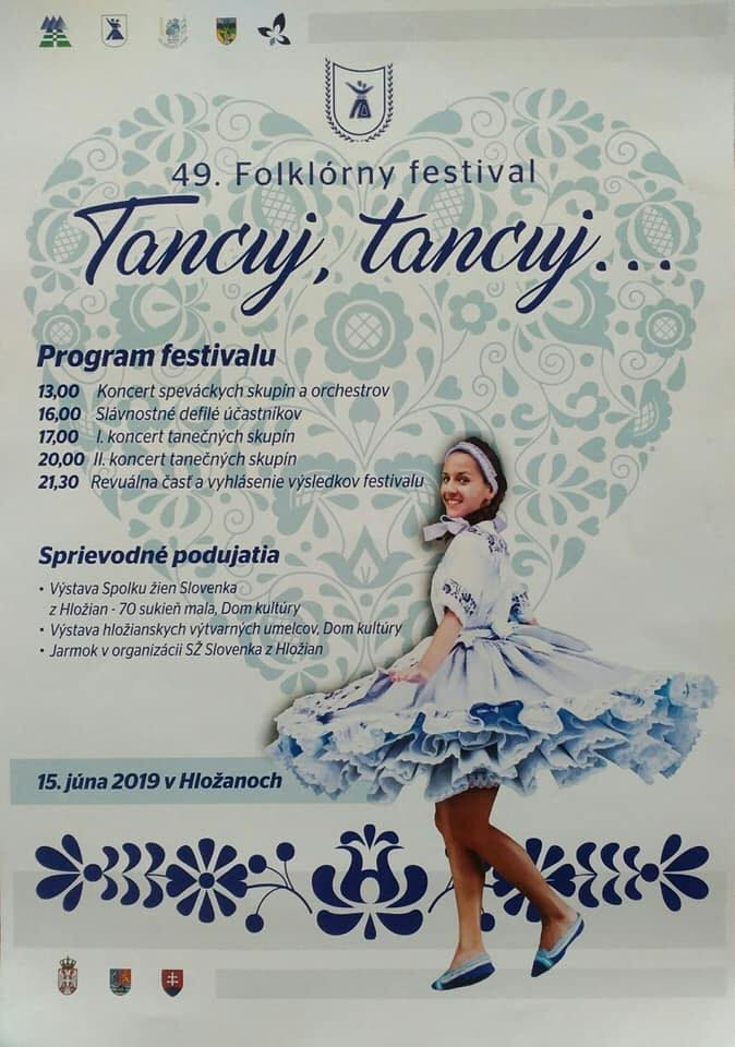 PROGRAM 49. Folklórneho festivalu Tancuj, tancuj...