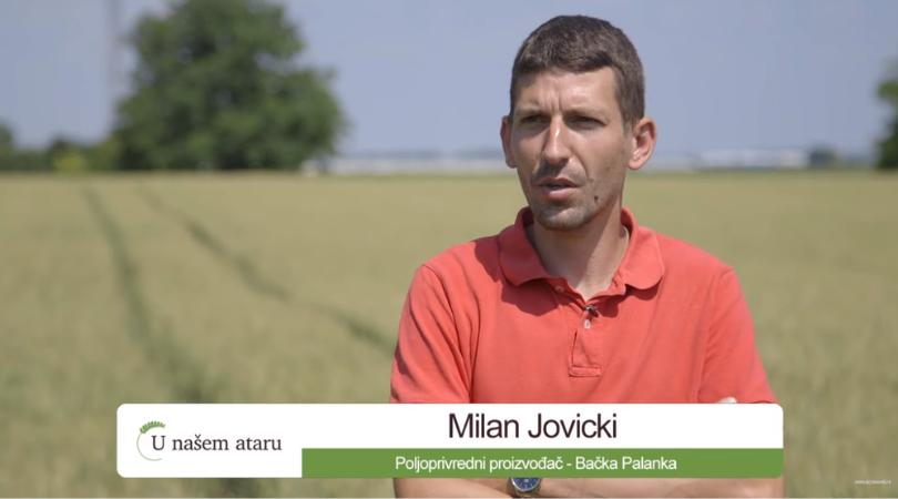 Uspešni poljoprivrednici –  Milan Jovicki iz Bačke Palanke