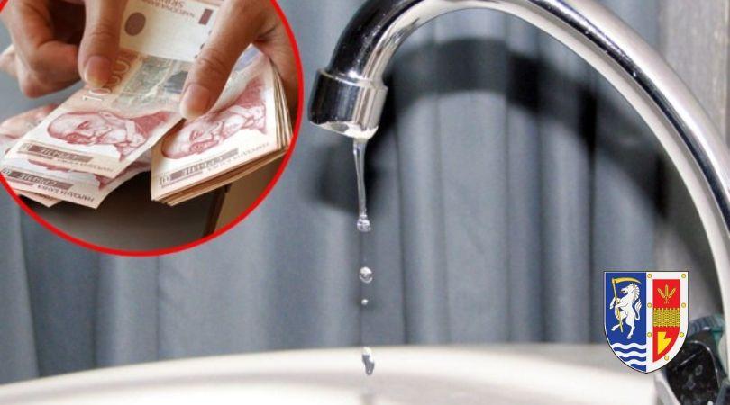 Poskupela voda za 10 posto