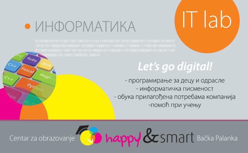 (1)Happy & Smart