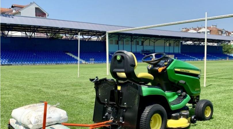 Stadion u Bačkoj Palanci dobija novu tribinu i još jedan ulaz